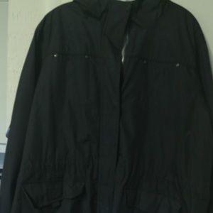 Jackets & Blazers - REVERSIBLE WINTER JACKET BLK LGE